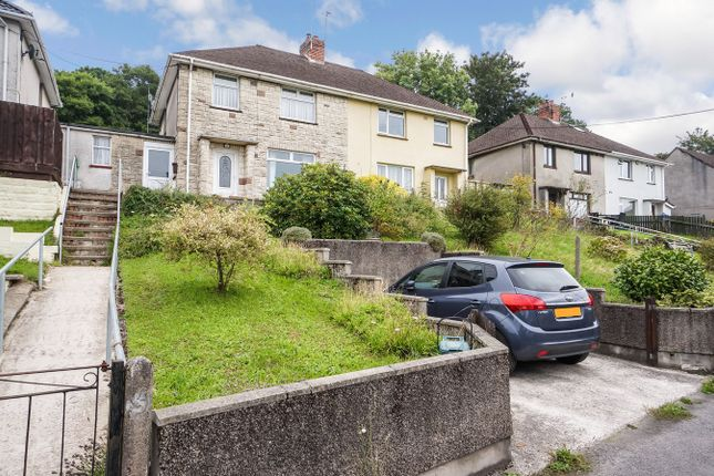 Thumbnail Semi-detached house for sale in Severn Close, Risca, Newport