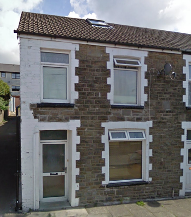 Thumbnail End terrace house to rent in Stuart Street, Merthyr Tydfil