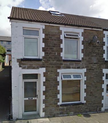 Thumbnail End terrace house to rent in Stuart Street, Merthyr Tydfil