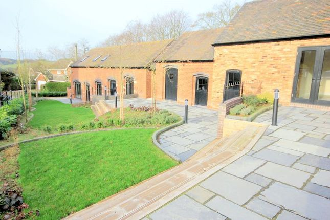 Thumbnail Barn conversion for sale in Moddershall, Stone