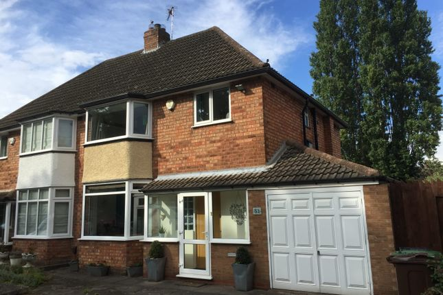 Thumbnail Semi-detached house for sale in Chestnut Drive, Birmingham