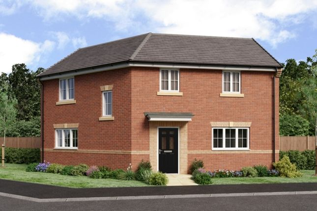 Thumbnail Detached house for sale in The Landings, Coppull, Chorley, Lancashire