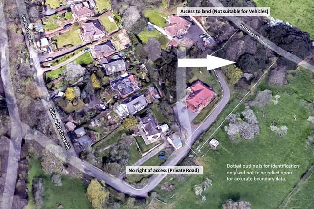 Aerial Image of Little Johns Cross Hill, Exeter EX2