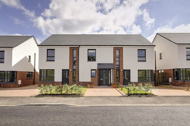 Thumbnail Semi-detached house for sale in Greenan Views, Bute Way, Doonfoot, Ayr