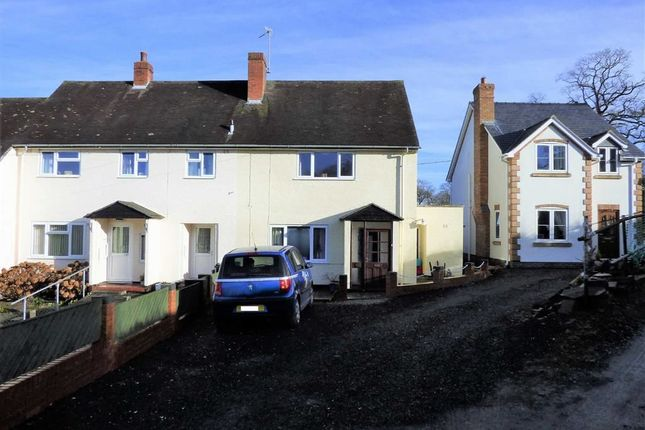 Thumbnail End terrace house to rent in Bryn Hafren, Crew Green, Shrewsbury