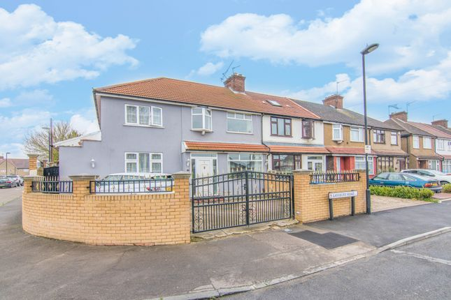 Thumbnail End terrace house for sale in Lansbury Road, Enfield