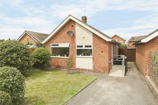 Thumbnail Detached bungalow for sale in Roes Lane, Calverton, Nottingham