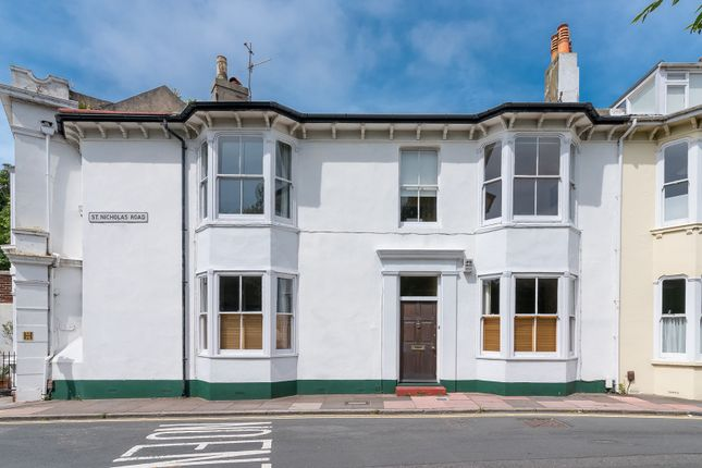 Thumbnail Terraced house for sale in St. Nicholas Road, Brighton