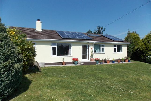 Thumbnail Detached bungalow for sale in Penhalurick, Redruth
