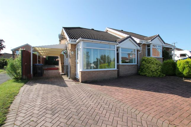 Thumbnail Semi-detached bungalow for sale in Furness Close, Bishop Auckland