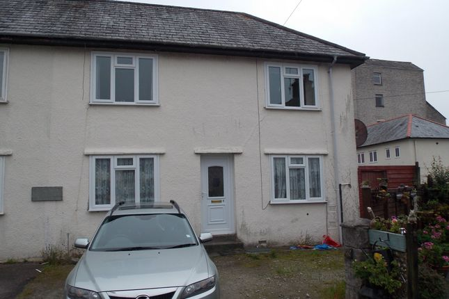 Thumbnail Semi-detached house to rent in Trenance Place, St Austell, Cornwall