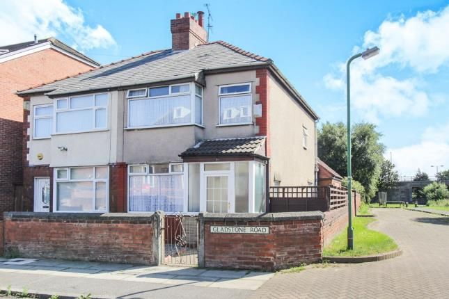 Thumbnail Semi-detached house for sale in Gladstone Road, Litherland, Liverpool, Merseyside