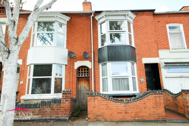 Thumbnail Terraced house for sale in Harrow Road, Leicester