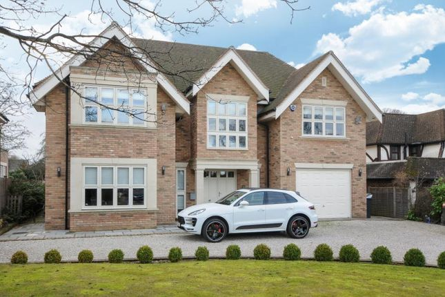 Thumbnail Detached House For Sale In Hazel Grove Farnborough Park