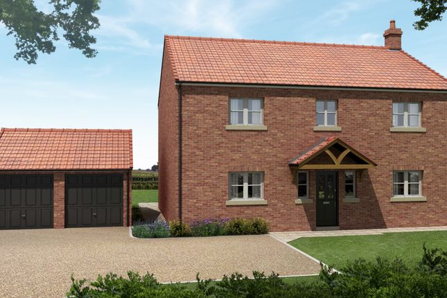Thumbnail Detached house for sale in Raskelf Meadows, Raskelf, York
