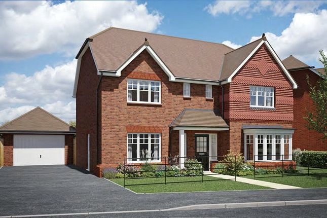 Thumbnail Detached house for sale in The Malmesbury-The Strawberry Field, Rea Lane, Hempsted