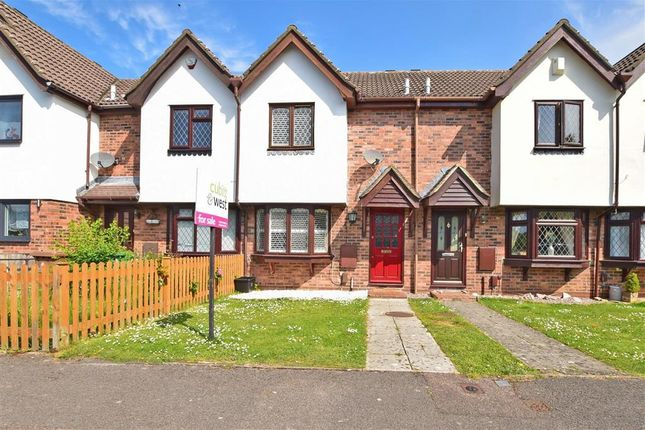Thumbnail 2 bedroom terraced house for sale in Fleetwood Close, Tadworth, Surrey