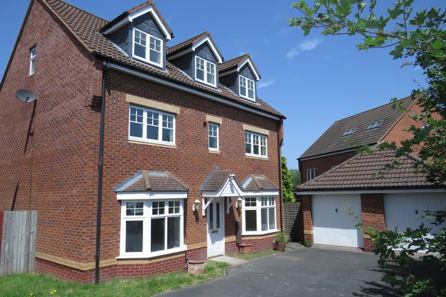 Thumbnail Detached house for sale in Wagstaff Way, Marston Green, Birmingham