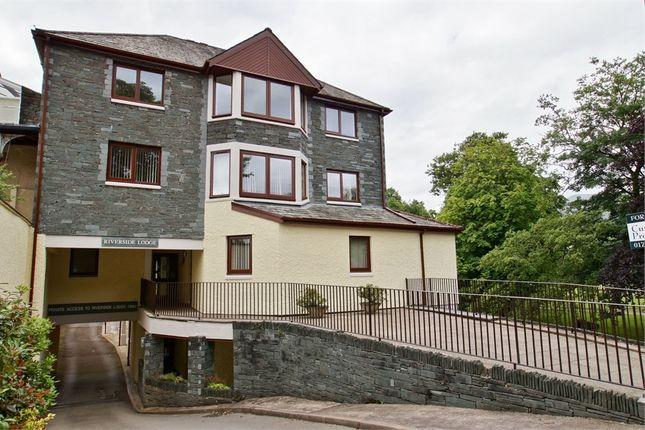 Thumbnail Flat for sale in Riverside Lodge, Station Road, Keswick, Cumbria