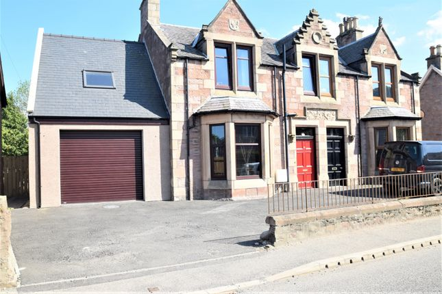 Thumbnail Semi-detached house for sale in Glenurquhart Road, Inverness