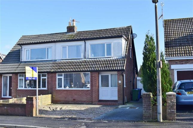 Thumbnail Semi-detached house for sale in Worcester Avenue, Garstang, Preston