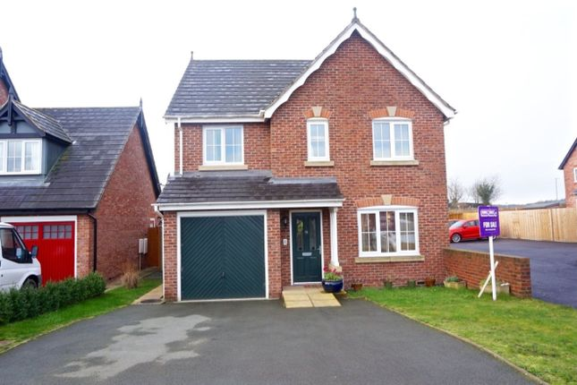 4 bed detached house for sale in Parc Llwyfen, Llanymynech