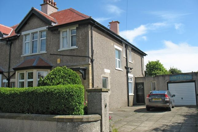 Thumbnail Semi-detached house for sale in Draycombe Drive, Heysham, Morecambe