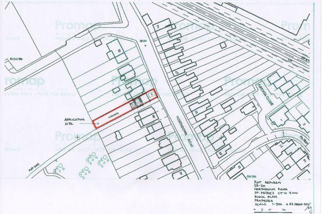 Site Plan of Northdown Road, Broadstairs CT10