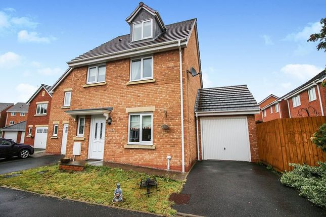 Thumbnail Detached house for sale in Clover Grove, Leekbrook, Staffordshire