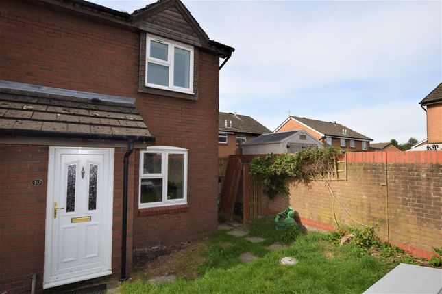 Thumbnail End terrace house for sale in Purdey Close, Barry