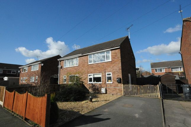 Thumbnail Semi-detached house to rent in Hallam Road, Uttoxeter