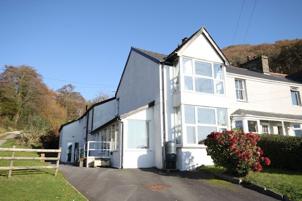 Thumbnail End terrace house for sale in Abertafol, Aberdovey