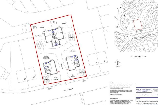 Thumbnail Land for sale in Milrig Crescent, Galston Site, Kilmarnock