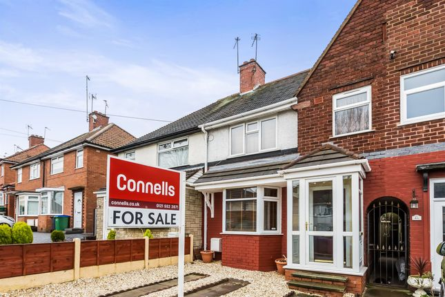 Thumbnail Terraced house for sale in Harvest Road, Bearwood, Smethwick