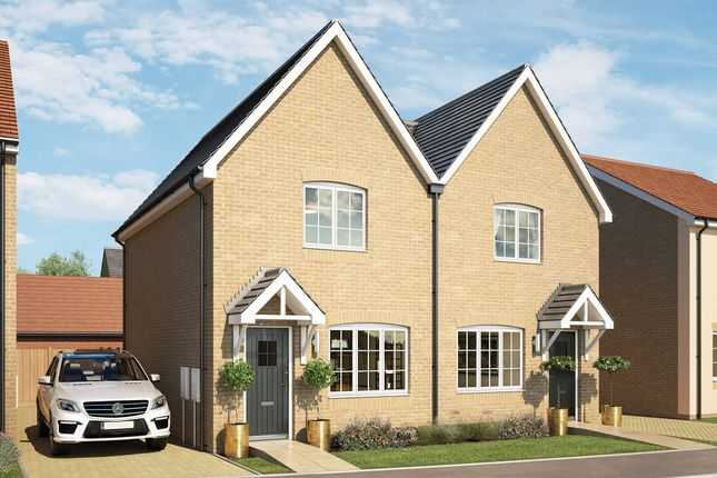 Thumbnail Semi-detached house for sale in Avondale, Mill Lane, Cressing Essex