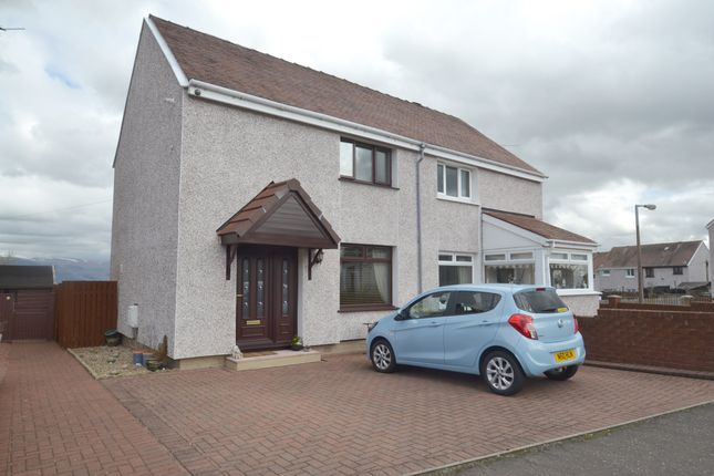 Thumbnail Semi-detached house to rent in Milne Park Road, Bannockburn, Stirling