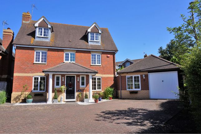 Thumbnail Detached house for sale in Dart Drive, Didcot