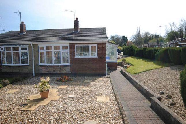 Thumbnail Semi-detached bungalow for sale in Stapleton Crescent, Dresden, Stoke-On-Trent