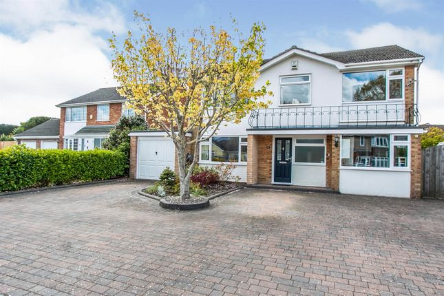 Thumbnail Detached house for sale in Glenmoor Road, West Parley, Ferndown