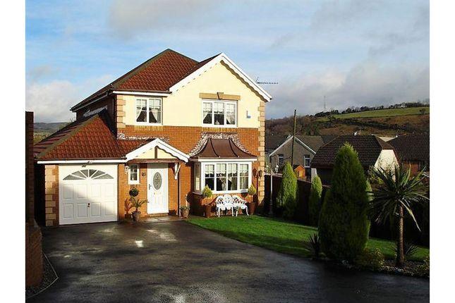 Thumbnail Detached house for sale in Swyn Y Nant, Tonyrefail, Porth
