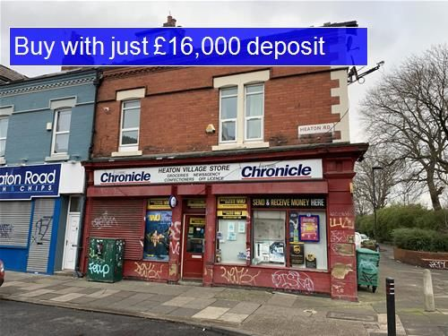 Thumbnail Retail premises for sale in Heaton Road, Heaton, Newcastle Upon Tyne