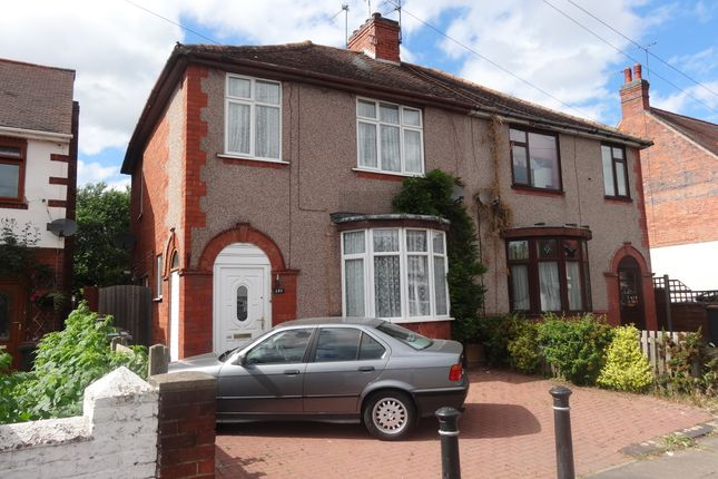 Thumbnail Semi-detached house to rent in Manor Court Road, Nuneaton