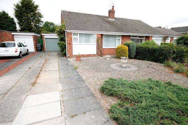 Thumbnail Semi-detached bungalow for sale in Derbyshire Drive, Belmont, Durham