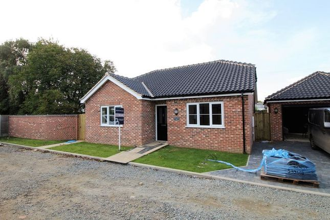 Thumbnail Detached bungalow for sale in Yaxham Road, Dereham, Norfolk