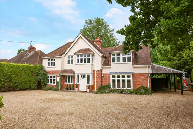Thumbnail Detached house for sale in Church Lane, Rotherfield Peppard, Henley-On-Thames, Oxfordshire