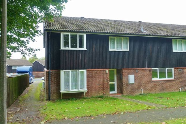 Thumbnail End terrace house to rent in Golden Miller Close, Newmarket