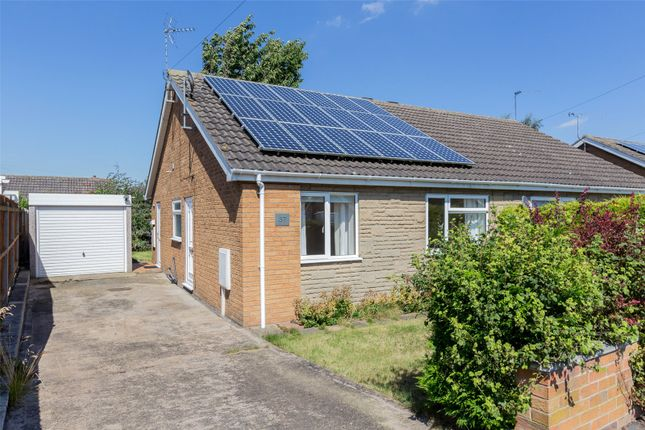 Thumbnail Semi-detached bungalow for sale in Eastfield Road, Epworth, Doncaster, Lincolnshire