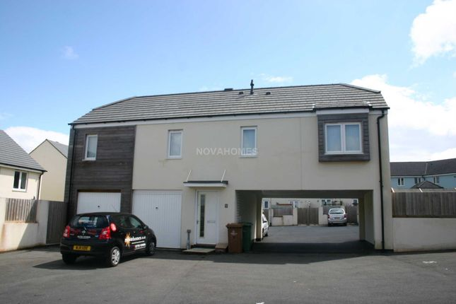 Thumbnail Detached house to rent in Whitehaven Way, Plymouth