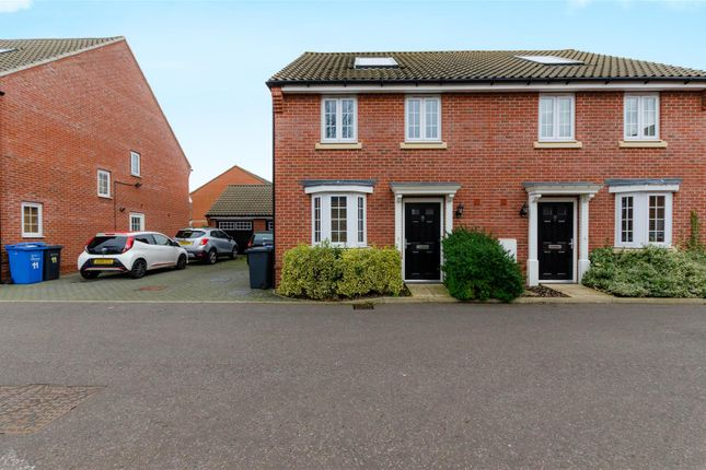 Thumbnail Semi-detached house for sale in Douglas Close, Old Catton, Norwich