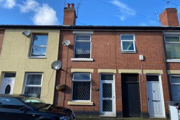 Thumbnail Property to rent in Reeves Road, Derby